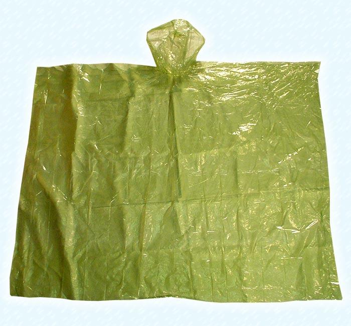 VIOLA pláštěnka - pončo turistická jednorázová 5709 khaki