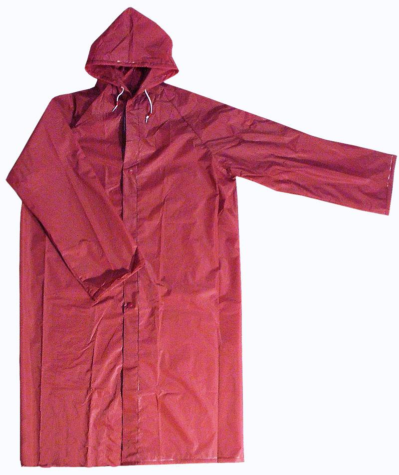 VIOLA pláštěnka turistická 5706 bordová, Velikosti M